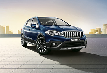 S-Cross blue colour