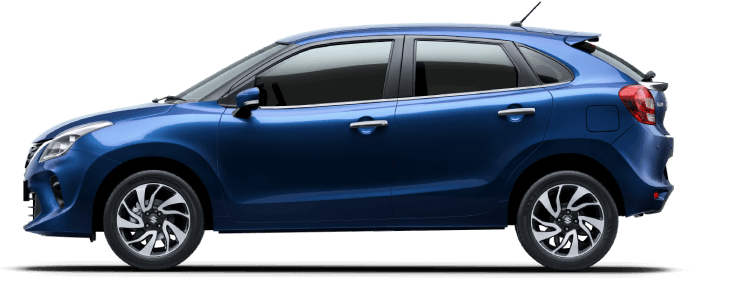 Maruti Suzuki Baleno Ray Blue Colour